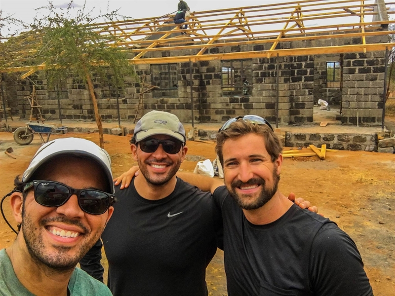 Advisory Board Members Travel to Africa to Build New Primary School